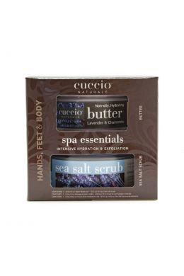 CUCCIO Lavender & Chamomile Spa Essential Kit